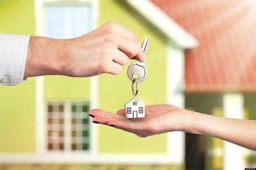 Handgiving House Keys