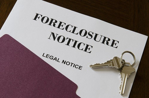 Real Estate Home Foreclosure Legal Notice