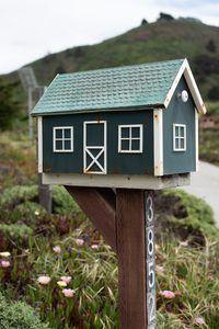 Green house mailbox